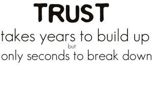 Build up trust