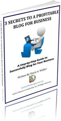 Free Report - 3 Secrets To A Profitable Blog For Business