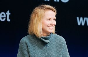 Marissa Mayer is a Woman in Leadership